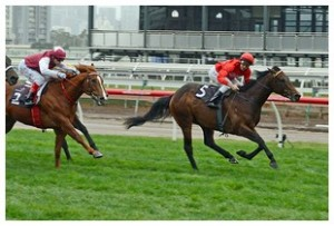 Charlie Boy wins G2 Danehill Stakes at Flemington