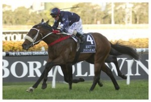 Zoustar hands jockey Jim Cassidy Group 1 win number 99.