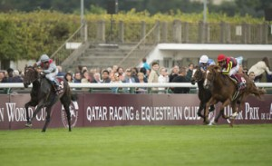 Unbeaten filly Treve magnificent in Arc victory.