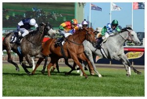 Happy Trails wins Turnbull Stakes at Flemington
