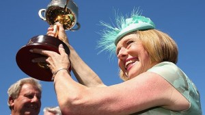 Gai Waterhouse wins her first Melbourne Cup