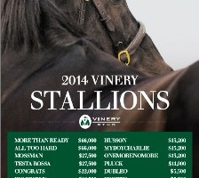 Outstanding stallion roster for 2014