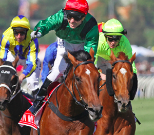 Turn Me Loose wins G1 Emirates Stakes