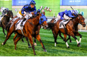 Buffering wins Al Quoz Sprint at Dubai World Cup meeting.