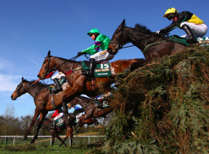 Grand National Steeplechase at Aintree England draws viewers from around the globe.